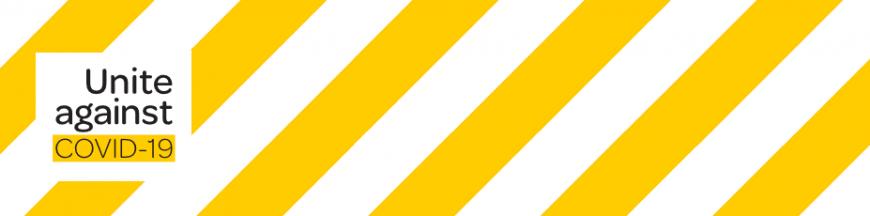 Banner: Unite against COVID-19
