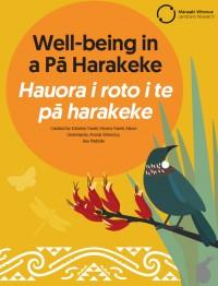 Cover: Well-being in a Pā Harakeke | Hauora i roto i te pā harakeke