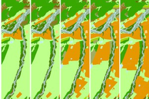 Progressive improvements in land cover mapping have been made with each new version of the LCDB
