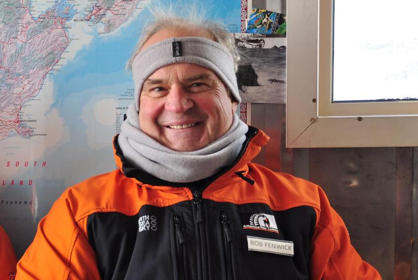 Sir Rob Fenwick in Antarctica