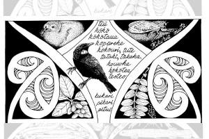 NZ Journal of Ecology special issue cover, mātauranga Māori