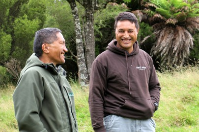 Two generations of Tūhoe, Te Whenua Te Kurapa and Puke Timoti, discuss their impressions of abundance and productivity witnessed in the forests of Te Urewera over their lifetimes.