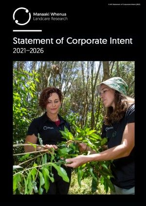 Cover: Statement of Corporate Intent 2021-2026