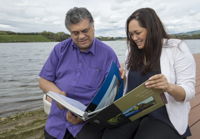 Rahui Papa and Yvonne Taura discuss the tribe's vision for the Waikato River.