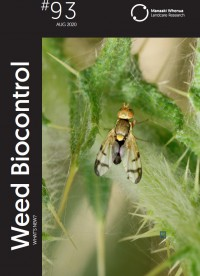 Weed Biocontrol: What's New? Issue 93